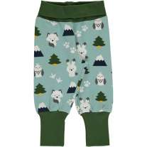 Maxomorra Winter World Rib Pants