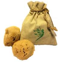 Natural Intimacy Menstrual Sea Sponges x2 & Bag