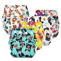 Milovia Newborn Nappy Covers x5