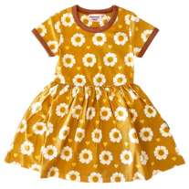 Moromini 70's Flower SS Twirly Dress