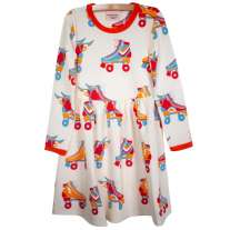Moromini Roller Disco LS Twirly Dress