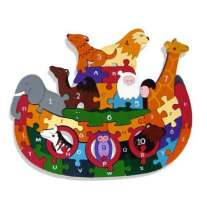 AlphabetJigsaws Noah's Ark