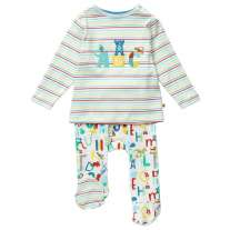 Piccalilly Alphabet Print Baby Gift Set