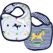 Piccalilly Rocking Horse Reversible Bib