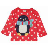 Frugi Penguin Bobby Top