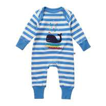 Piccalilly Whale Applique Playsuit