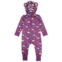 Piccalilly Hedgehog Hooded Playsuit