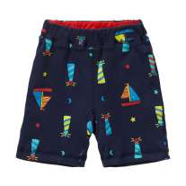 Piccalilly Lighthouse Print  Reversible Shorts