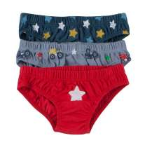 Piccalilly Tractors and Stars Underpants x 3