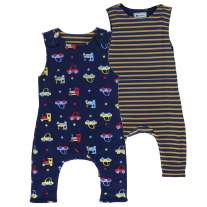 Piccalilly Car Reversible Dungarees