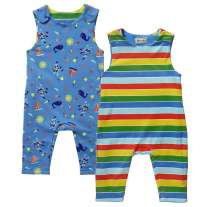 Piccalilly Seaside Reversible Dungarees