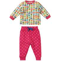 Frugi Soft Bumble Bloom Little Long John PJs