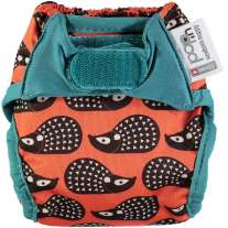 Pop-in Hedgehog Print Newborn Nappy