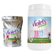 Violets Magic Laundry Powder
