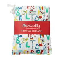 Piccalilly Alphabet Cot Bed Sheet in a Bag