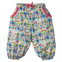 Frugi Happy Houses Pretty Pull Ups