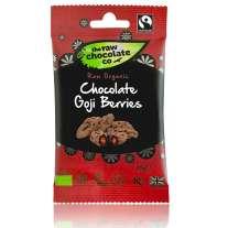Chocolate Goji Snack Pack 28g - Raw Chocolate Company