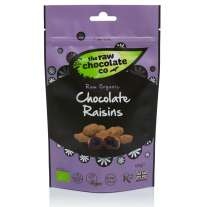 Chocolate Raisins Pouch 125g - Raw Chocolate Company