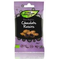 Chocolate Raisins Snack Pack 28g - Raw Chocolate Company