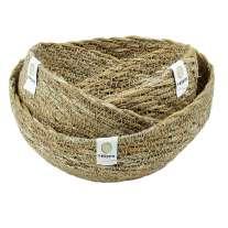 ReSpiin Seagrass Mini Bowl Set of 3