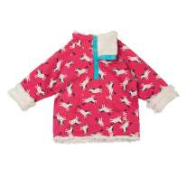 Frugi Horses Little Snuggle Fleece