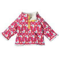 Frugi Ditsy Ducks Little Snuggle Fleece