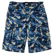 Frugi Camo Sharks Explorer Shorts