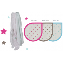 Piccalilly Little Star Swaddling Muslins