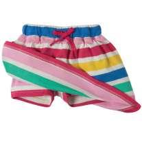 Frugi Candy Stripe Little Skort