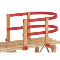 Wooden Sledge Child Seat