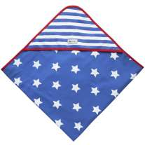 Piccalilly Stars & Stripes Hooded Blanket