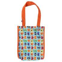 Pop-in Stripe Elephant Small Tote Bag