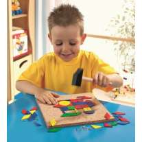 Haba 100pc Shape Tack Set