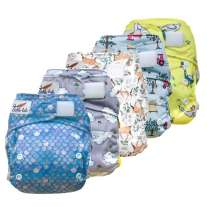 Tickle Tots Hybrid Nappy 5-Pack