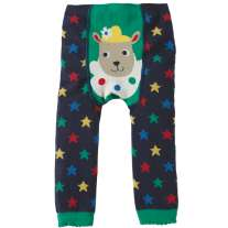 Frugi Sheep Little Knitted Leggings