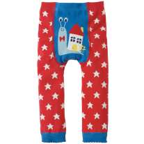 Frugi Snail Little Knitted Leggings