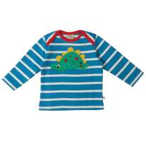 Frugi Dino Bobby Applique Top