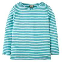 Frugi Aqua Mia Pointelle Top
