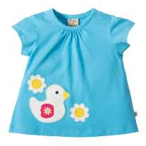 Frugi Duck Amber Applique Top