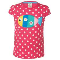 Frugi Fish Poldhu Applique Top