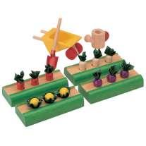 Plan Toys Dolls House Vegetable Garden