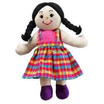 Lanka Kade Girl Doll - White Skin, Black Hair