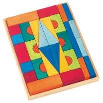 Glückskäfer 36-Piece Large Toscana Blocks