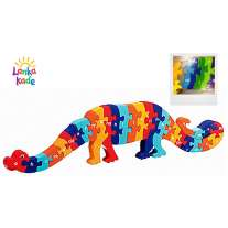 Welsh Alphabet Dinosaur Jigsaw