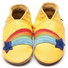 Inch Blue Rainbow Star Yellow Shoes