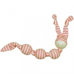 Keptin Jr Rattle Cuddle Sneeky - Pink