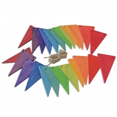 Grimm's Rainbow Pennant Banner Bunting