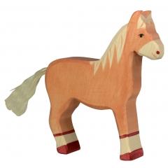 Holztiger Light Brown Standing Horse