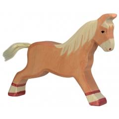 Holztiger Light Brown Running Horse