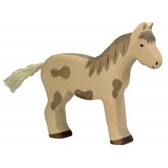 Holztiger Standing Dappled Horse